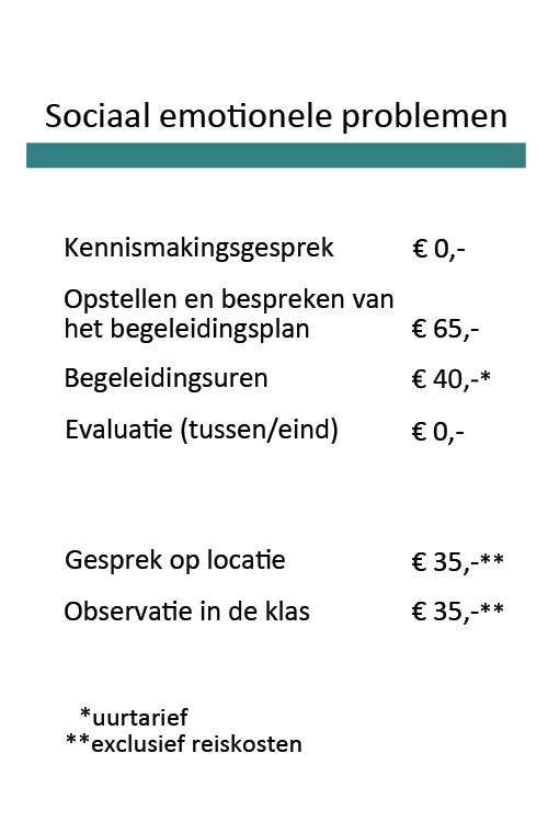 Tarieven Prakijk Bij De Hand_Sociaal_emotionele_problemen