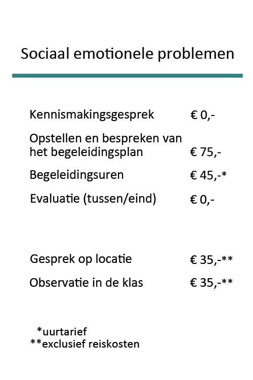Tarieven Prakijk Bij De Hand_Sociaal_emotionele_problemen_2020